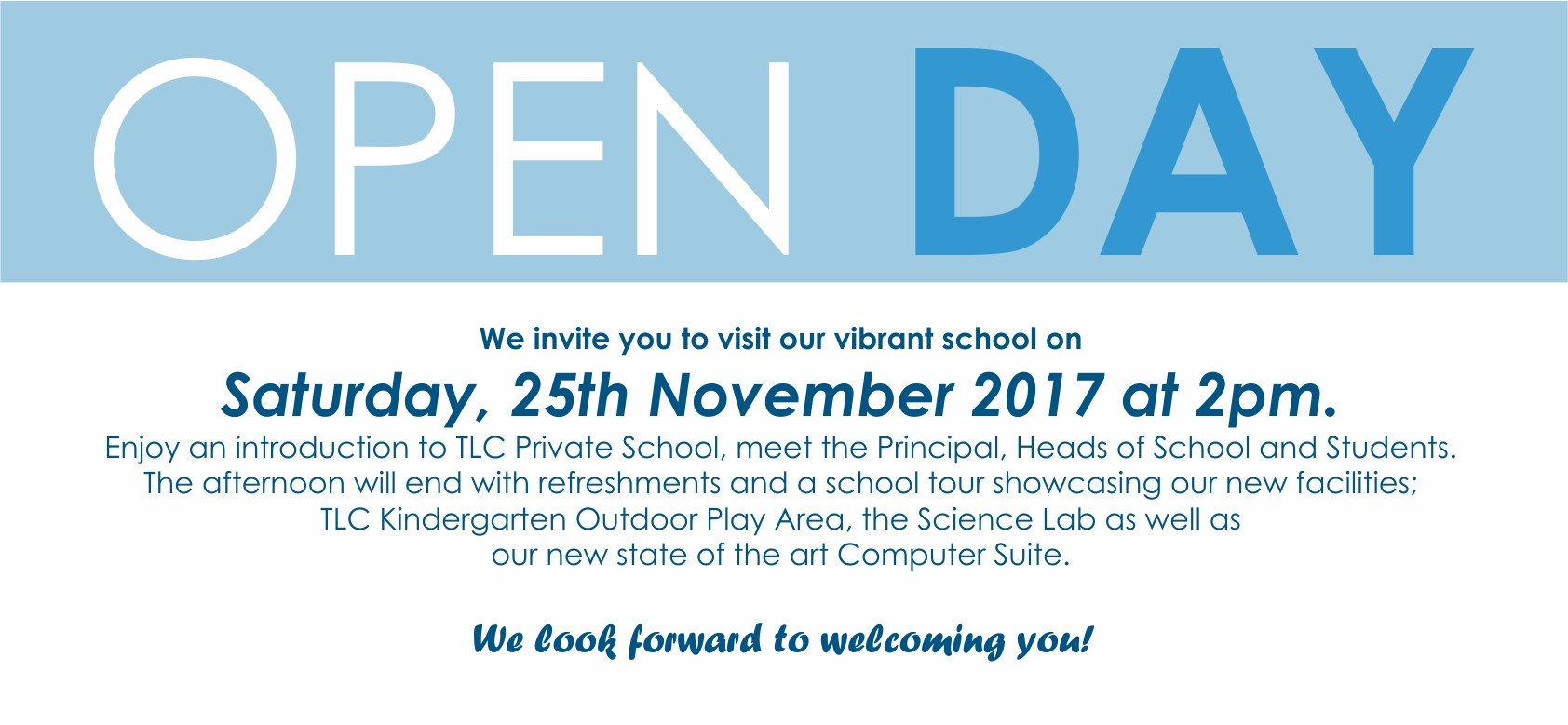 25th Open day