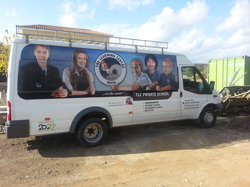 School Minibus purchased in 2014, PTFA raised €7000